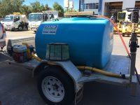 Algaecide Treatment for concrete