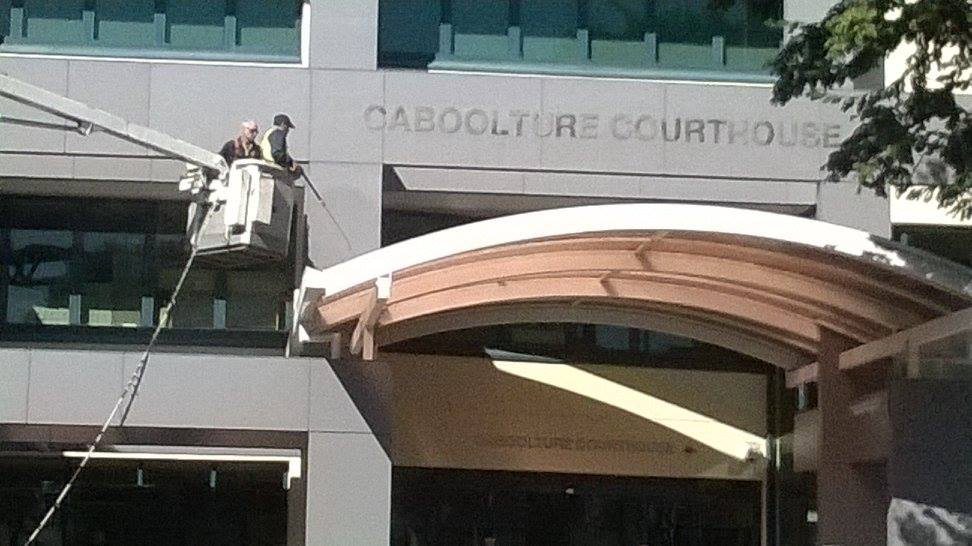 Caboolture Courthouse Pressure Wash