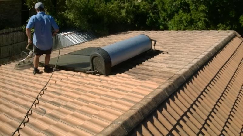 Rotowash Roof Cleaning