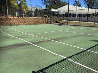 Tennis Court Surface Clean